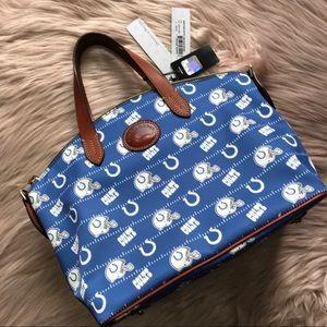 Dooney & Bourke Indy Colts Gabriella Satchel Bag